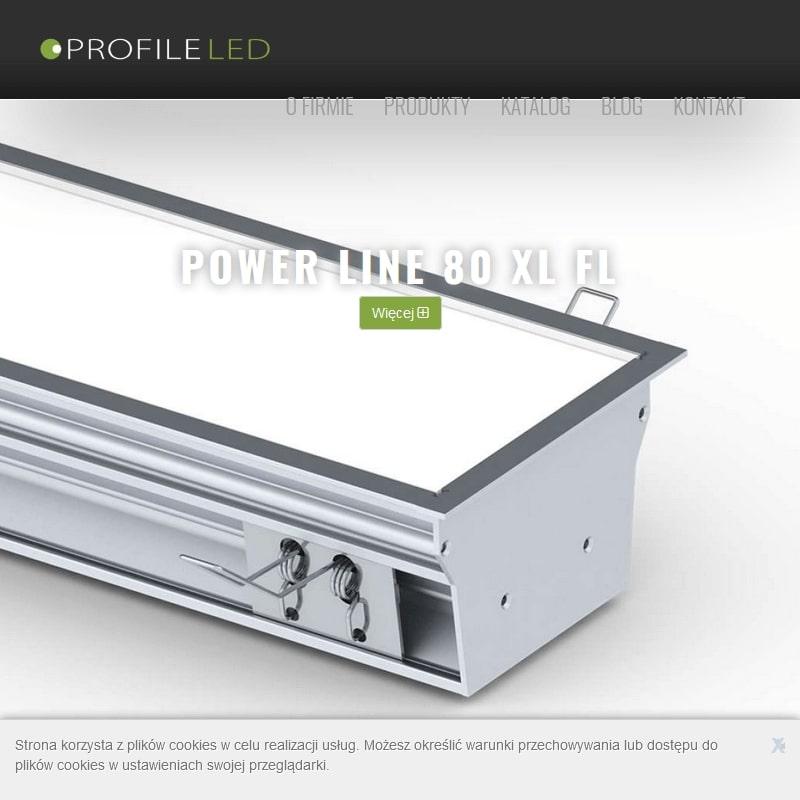Systemy LED do hal produkcyjnych.