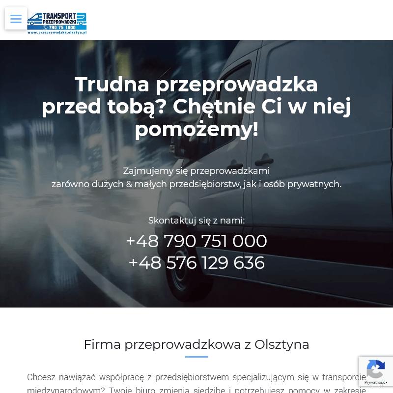 Firma przeprowadzkowa z Olsztyna