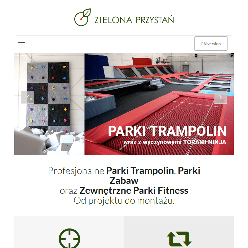 Projektowaniem parków trampolin z torami ninja