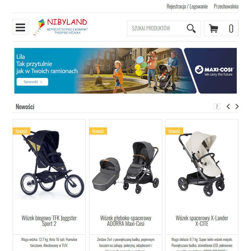 Tanie wózki dziecięce
