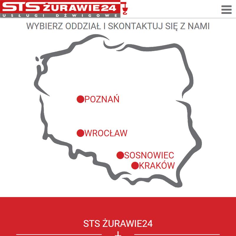 Dźwig samochodowy - Kraków