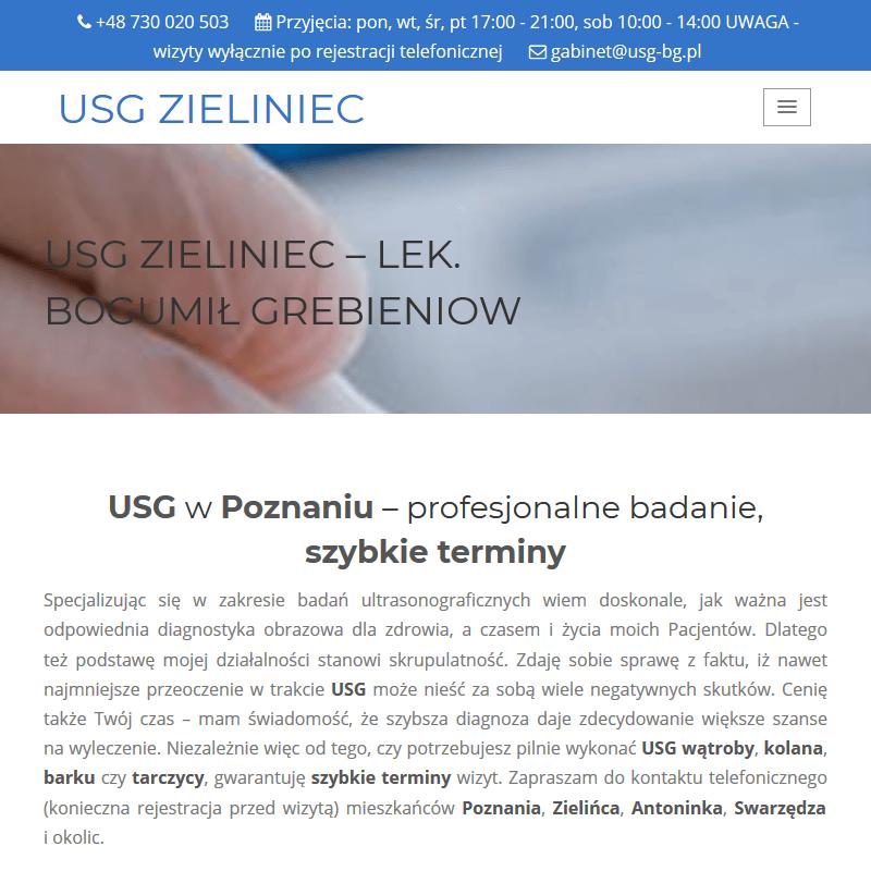 USG stawów - Poznań