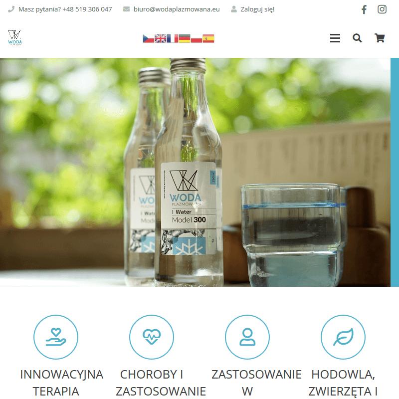 Terapie alternatywne wodą plazmowaną